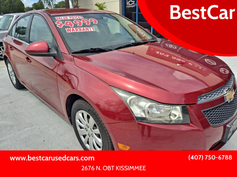 2011 Chevrolet Cruze for sale at BestCar in Kissimmee FL