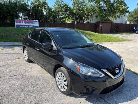 2017 Nissan Sentra for sale at Detroit Cars and Trucks in Orlando FL