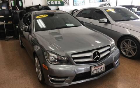 2013 Mercedes-Benz C-Class for sale at International Motors in San Pedro CA