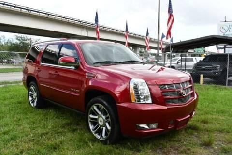 2013 Cadillac Escalade for sale at AE Of Miami in Miami FL