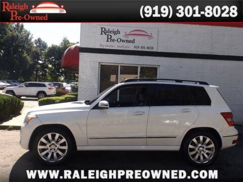 2012 Mercedes-Benz GLK for sale at Raleigh Pre-Owned in Raleigh NC