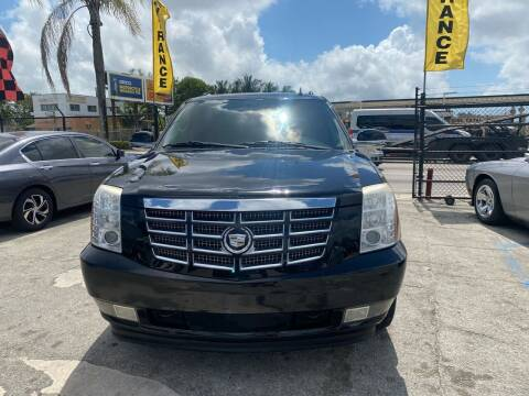 2009 Cadillac Escalade for sale at America Auto Wholesale Inc in Miami FL