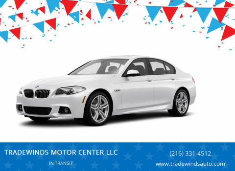 2016 BMW 5 Series for sale at TRADEWINDS MOTOR CENTER LLC in Cleveland OH