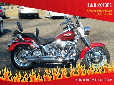 2008 Harley-Davidson Fatboy for sale at H & R Motors in Danville VA