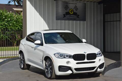2018 BMW X6 for sale at G MOTORS in Houston TX