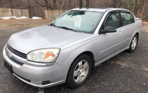 2004 Chevrolet Malibu for sale at Motuzas Automotive Inc. in Upton MA