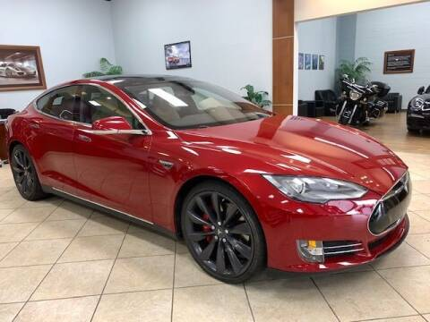 2015 Tesla Model S for sale at Adams Auto Group Inc. in Charlotte NC