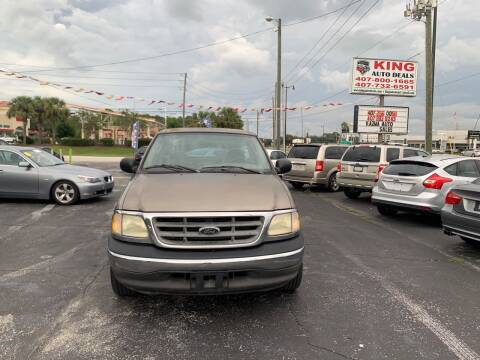 2003 Ford F-150 for sale at King Auto Deals in Longwood FL