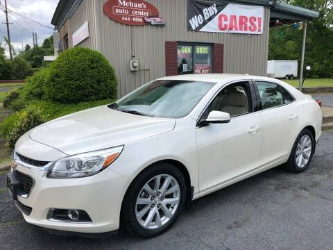 2014 Chevrolet Malibu for sale at Mehan's Auto Center in Mechanicville NY