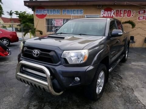 2013 Toyota Tacoma for sale at VALDO AUTO SALES in Miami FL