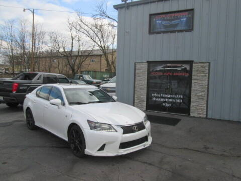 2013 Lexus GS 350 for sale at Access Auto Brokers in Hagerstown MD