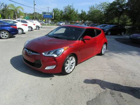 2015 Hyundai Veloster for sale at S & T Motors in Hernando FL