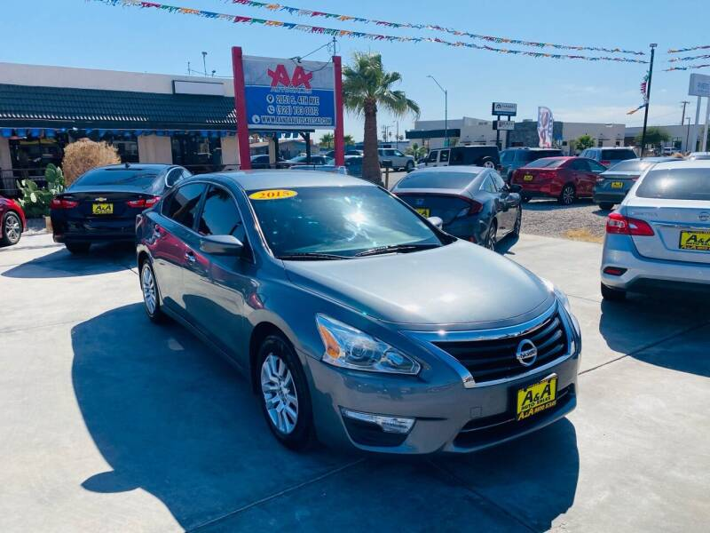 2015 Nissan Altima for sale at A AND A AUTO SALES in Gadsden AZ