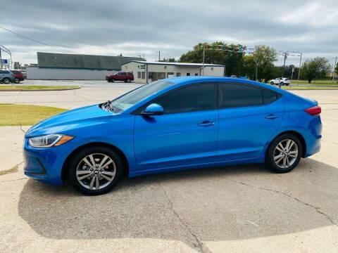 2018 Hyundai Elantra for sale at Pioneer Auto in Ponca City OK