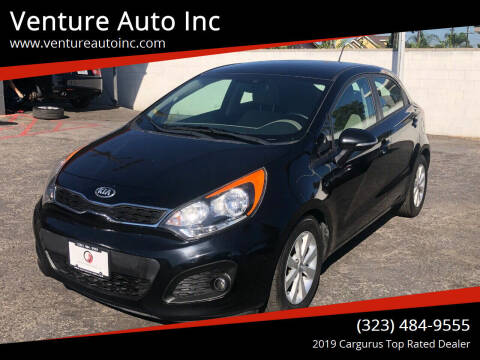 2014 Kia Rio 5-Door for sale at Venture Auto Inc in South Gate CA