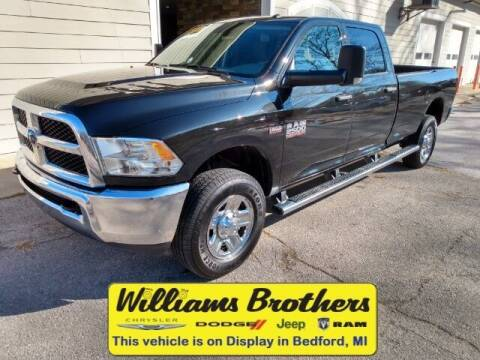 2018 RAM Ram Pickup 2500 for sale at Williams Brothers - Pre-Owned Monroe in Monroe MI