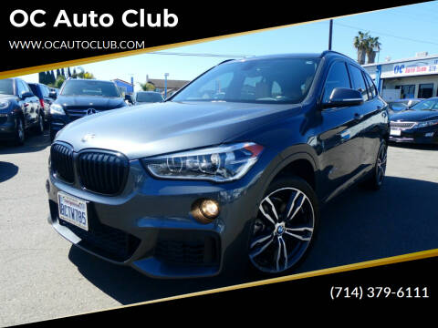 2018 BMW X1 for sale at OC Auto Club in Midway City CA