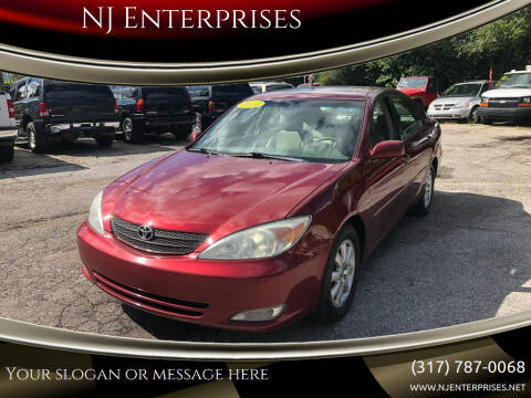 2004 Toyota Camry for sale at NJ Enterprises in Indianapolis IN