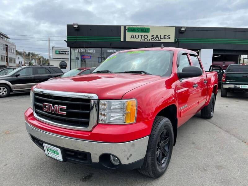 2007 GMC Sierra 1500 for sale at Wakefield Auto Sales of Main Street Inc. in Wakefield MA