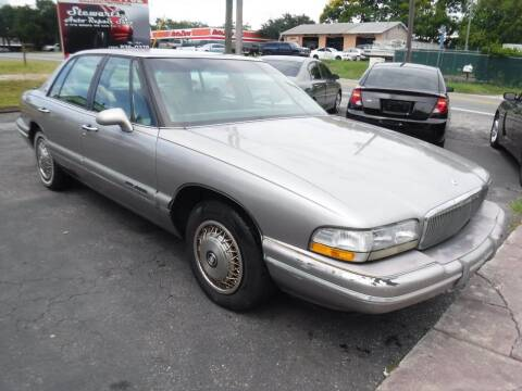 1996 Buick Park Avenue for sale at LEGACY MOTORS INC in New Port Richey FL