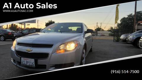 2011 Chevrolet Malibu for sale at A1 Auto Sales in Sacramento CA