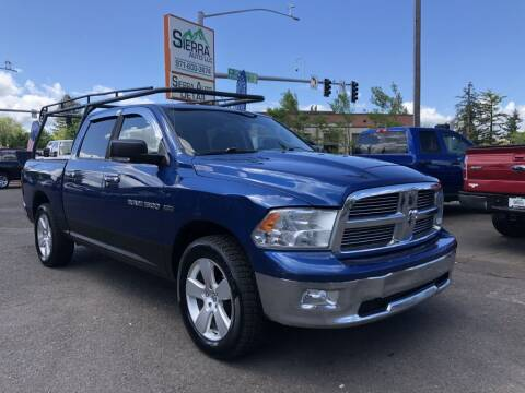 2011 RAM Ram Pickup 1500 for sale at SIERRA AUTO LLC in Salem OR