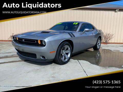 2015 Dodge Challenger for sale at Auto Liquidators in Bluff City TN
