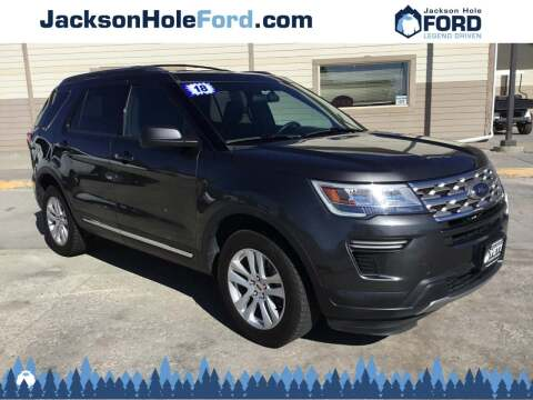 2018 Ford Explorer for sale at Jackson Hole Ford of Alpine in Alpine WY