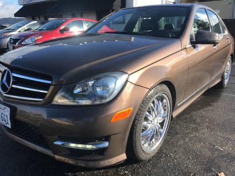 2014 Mercedes-Benz C-Class for sale at AutoDistributors Inc in Fulton CA