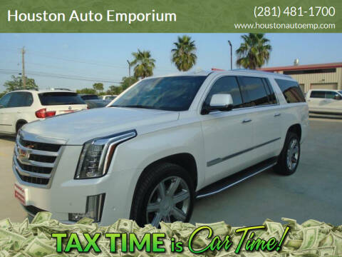 2017 Cadillac Escalade ESV for sale at Houston Auto Emporium in Houston TX
