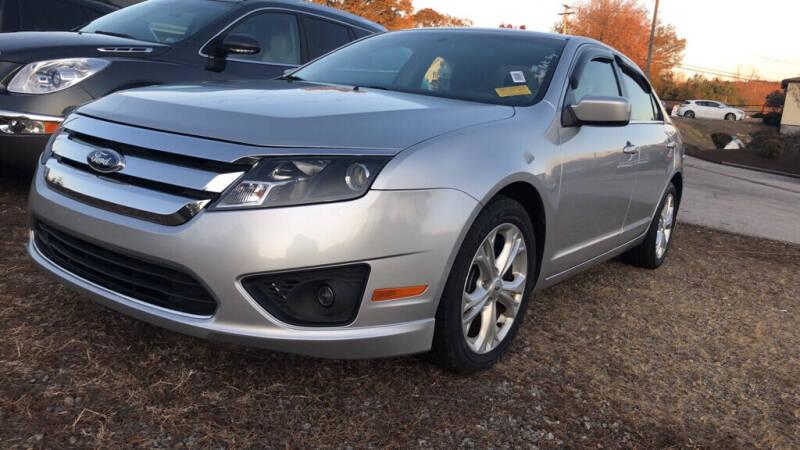 2012 Ford Fusion for sale at Doug's Auto Sales in Danville VA