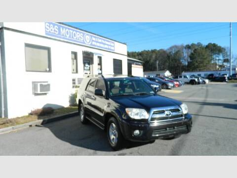 2006 Toyota 4Runner for sale at S & S Motors in Marietta GA