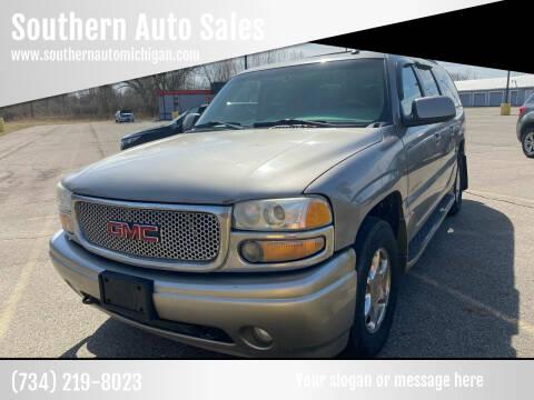 2003 GMC Yukon XL for sale at Southern Auto Sales in Clinton MI