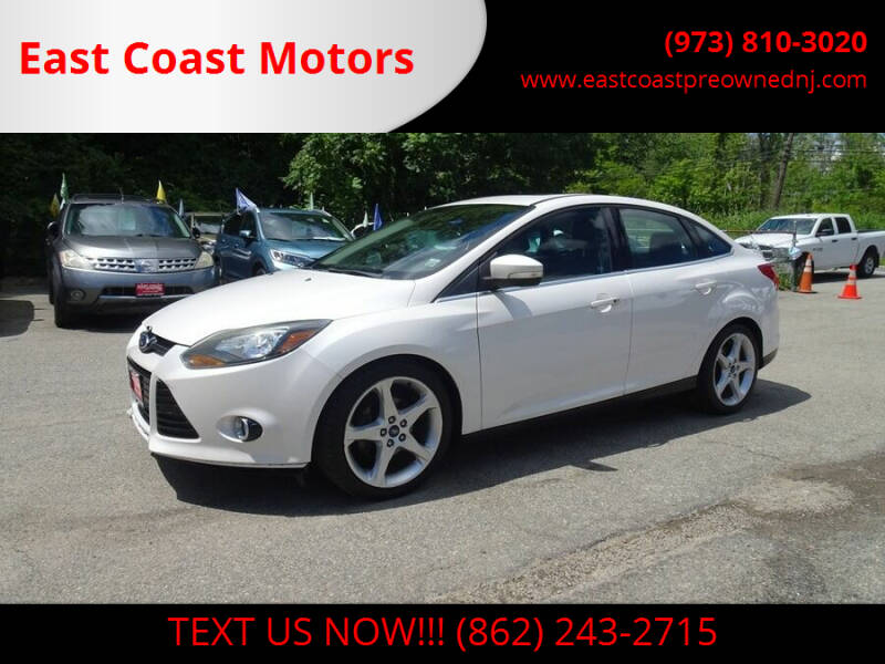 2012 Ford Focus for sale at East Coast Motors in Lake Hopatcong NJ