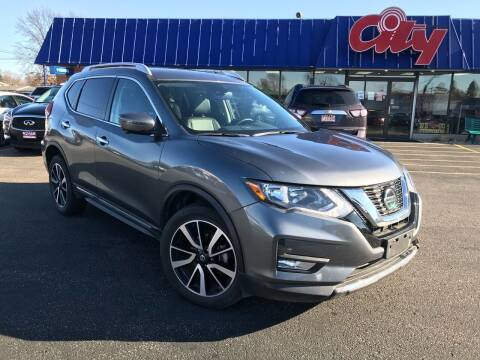 2020 Nissan Rogue for sale at CITY SELECT MOTORS in Galesburg IL