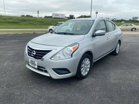 2016 Nissan Versa for sale at MARLER USED CARS in Gainesville TX