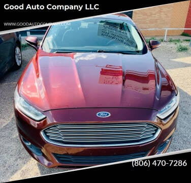 2015 Ford Fusion for sale at Good Auto Company LLC in Lubbock TX