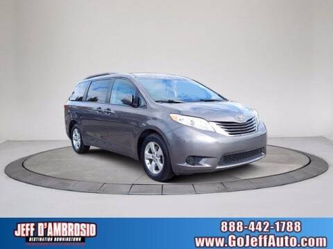 2017 Toyota Sienna for sale at Jeff D'Ambrosio Auto Group in Downingtown PA