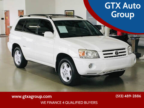 2007 Toyota Highlander for sale at GTX Auto Group in West Chester OH