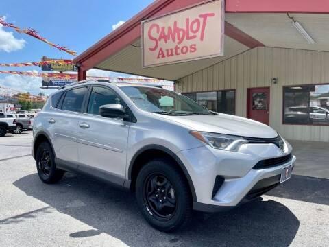 2017 Toyota RAV4 for sale at Sandlot Autos in Tyler TX