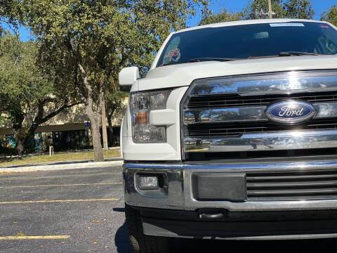 2017 Ford F-150 for sale at HIGH PERFORMANCE MOTORS in Hollywood FL
