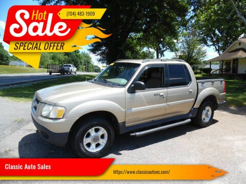 2002 Ford Explorer Sport Trac for sale at Classic Auto Sales in Maiden NC
