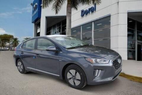 2020 Hyundai Ioniq Hybrid for sale at DORAL HYUNDAI in Doral FL