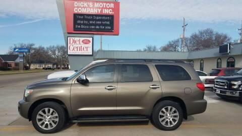 2015 Toyota Sequoia for sale at DICK'S MOTOR CO INC in Grand Island NE