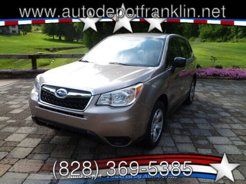 2014 Subaru Forester for sale at Auto Depot in Franklin NC