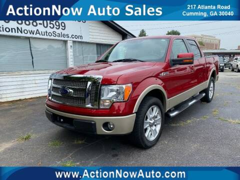 2010 Ford F-150 for sale at ACTION NOW AUTO SALES in Cumming GA