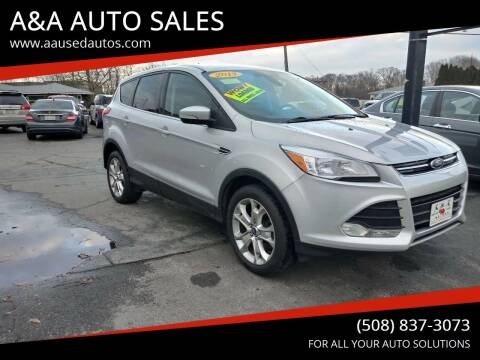 2013 Ford Escape for sale at A&A AUTO in Fairhaven MA