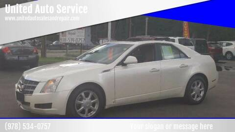 2009 Cadillac CTS for sale at United Auto Service in Leominster MA