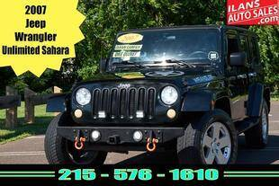 2007 Jeep Wrangler Unlimited for sale at Ilan's Auto Sales in Glenside PA