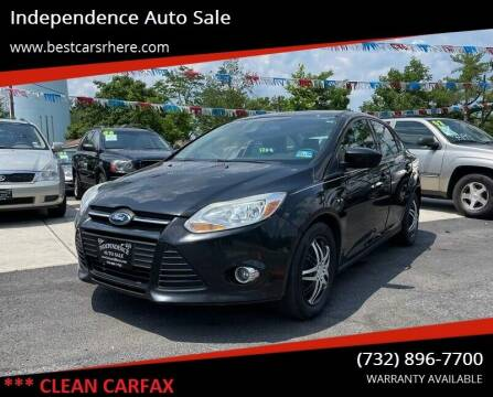 2012 Ford Focus for sale at Independence Auto Sale in Bordentown NJ